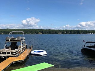 Winnipesaukee Vacation Home For Entire Family W/ Private Beach And Dock