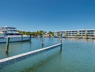 FREE WiFi! 3 bedroom, 3 bath townhouse ~ 210 Mariners Club Key Largo