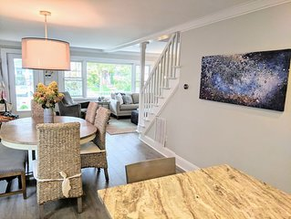 CHARMING! Bright, Clean, 2 Blks to Beach. Kid-Friendly, Chic, Well Appointed