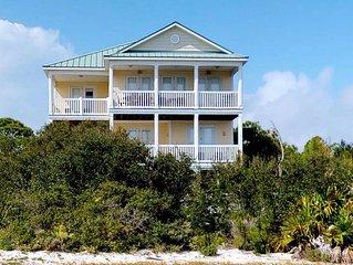 FREE BEACH GEAR! Plantation Beach View, Pool, Hot Tub, Elevator, Fireplace, 5BR/