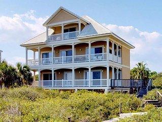FREE BEACH GEAR! Beachfront, Plantation, Pool, Wi-Fi, 5BR/4BA 'Doctor's Orders'