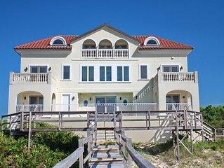 FREE BEACH GEAR! Beachfront Plantation, Pool, Private Boardwalk, Elevator, 7BR/7