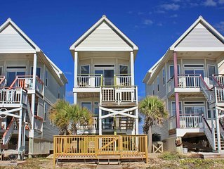 FREE BEACH GEAR! Beachfront, Pets OK, Private Boardwalk, Wi-Fi, 3BR/3BA 'Moon Dr