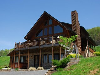 Gorgeous Log Home With Private Indoor Pool and Dock Slip