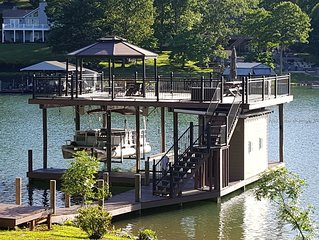 Beautiful New  Lakefront Home On Smith Mountain Lake.