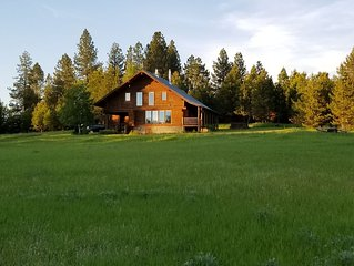 Your Own Private Idaho!  McCall Log Home on 13 Acres