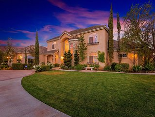 Rehearsal Dinners Ok* Gated Tuscany Estate Best Views in Temecula Wine Country