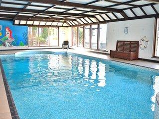Delightful 2 bedroom cottage in beautiful Devon countryside, indoor pool & sauna