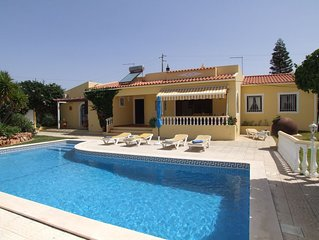 Beautiful Villa with 3 or 4 Bedrooms, Private Pool, Air Con,Sat TV & WIFI
