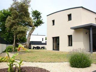 grande maison classee 4**** de 130m2 pour 8 personnes avec SPA privatif!!