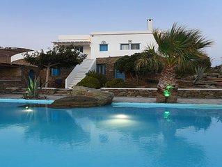 Seafront Villa Artemis in Tinos Island   (ΜΗΤΕ 1178Κ***********)