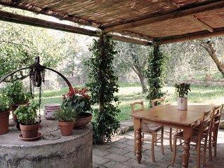 La Casa di Annavittoria/il giardino nel borgo di Monticchiello