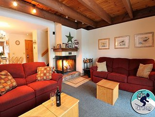 Cozy two bedroom condo on the shuttle route & ski back trail
