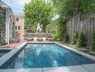 Luxurious 5 bedroom home with hot tub and pool in prime location