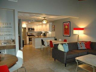 The Getaway II- Surf City Luxury in this 4 bedroom Beach House.