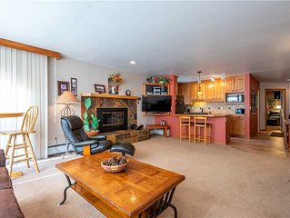 Ski-in/Out condo, huge living room, best views. Complimentary WiFi, & parking.