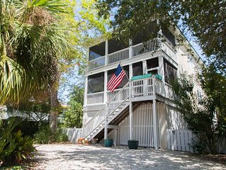 Brooks Cottage! South End Pet-Friendly Family Beach House! Sleeping Porch!