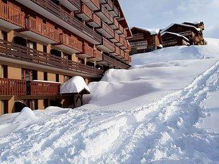 Location Appartement *** de qualité en montagne à La Plagne départ Skis au pieds