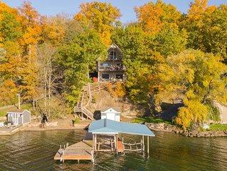 English Lakehouse:'Absolutely gorgeous Finger Lakes sunsets!'