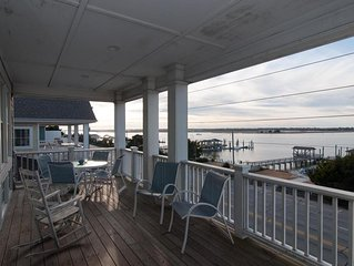 Enjoy family & friends at this soundfront pet friendly duplex with boat dock