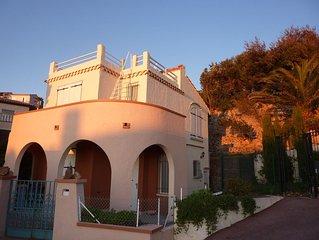 Maison Villa Santa Lucia climatisée + jacuzzi 6 places - Bord de Mer - 5 pers