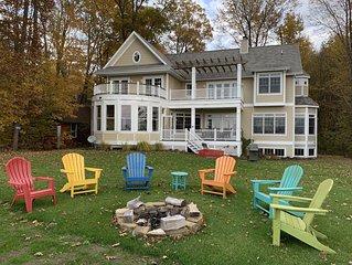 Saugatuck/Douglas - Lake Michigan Waterfront 4,000 sq ft luxury home