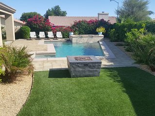 Private home w/ Pool and Spa! Walking Distance To Coachella & Stagecoach!