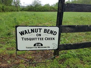 Walnut Bend on Tusquittee Creek