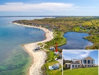 Ocean Front with Private Beach Retreat: Breathtaking Unobstructed Ocean Views