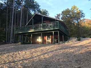 Cozy Cottage Secluded Wooded Area Outside Shanty Creek Resort - DOG FRIENDLY