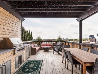 Indy Rooftop Penthouse