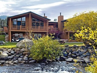 Situated on the Big Thompson River!