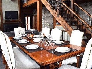 chalet Log House 471      Lac Superieur -Mont-Tremblant