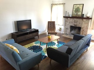 Mid Century Modern Inspired Home in Olde Town Main Street