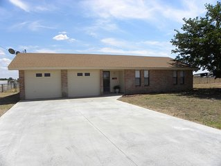 Country Haven has 3 bedrooms and 2 baths. A kitchen, living room and dining.