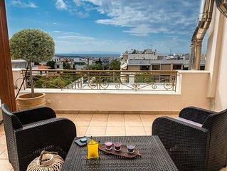 Glyfada - Leo Unique Sea View Apartment