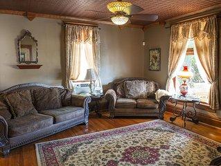The Farrow House- Canoe, Bike, Hike, Historic Area. Hocking Valley Railroad,