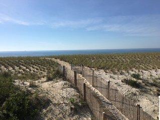 Lovely First Floor Oceanfront 207 E 22nd Spray Beach, LBI, New Jersey.
