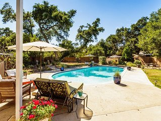 Brooke Haven, California indoor/outdoor living w/ Pool, Hot Tub & Fire Side Fun