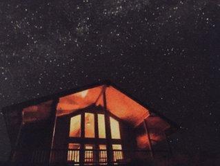 New Luxury Log Cabin/ Stunning Views/ Hot Tub/ Wildlife/ Privacy
