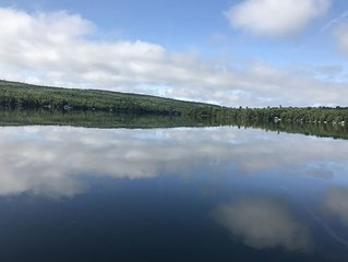Four Season Getaway on Upper Cold Stream Pond (Big Narrows)
