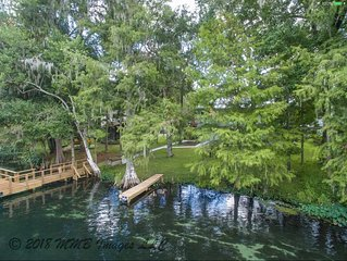 Luxurious Riverfront Home, Peaceful Setting with all of the amenities included.