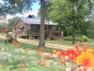 A comfy, cozy farmhouse in San Marcos