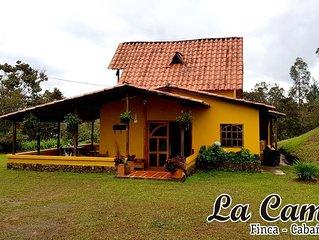 Finca La Camila a 3km de Parque Ecologico Piedras Blancas y Metro Arvi,Sta Elena