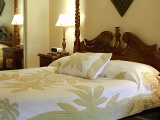 'Island Goode's' - Ginger Room - Luxury - Air Conditioned - 'Sleep Number' Bed