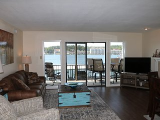 Waterfront Condo, Great Views, and Great Location.