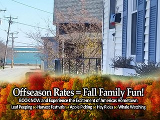 Summer Fun on the Waterfront & Downtown - just steps away from both!
