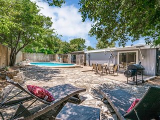 Walk to Will Rodgers and Enjoy Private Backyard Pool & Patio!