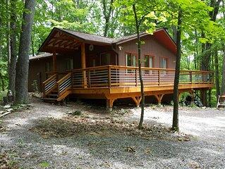 Modern Scandinavian Style Cabin in Coolfont, AWARD WINNING RESORT
