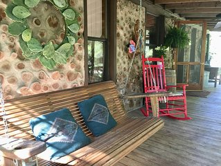 Rustic chic — the perfect getaway in Hill Country!